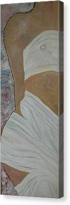 Nude In Spa Canvas Print by Dorota Nowak