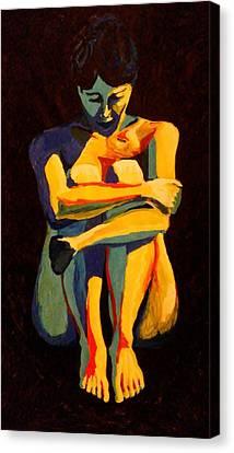 Nude Pose 2 Canvas Print
