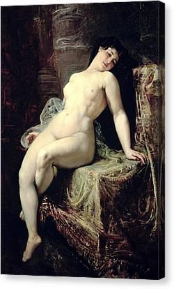 Nude Canvas Print by Ramon Marti Alsina