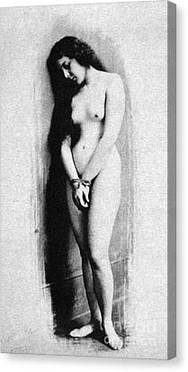 Nude Slave, 1901 Canvas Print by Granger