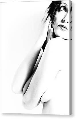 Nudes Bw Canvas Print by Falko Follert