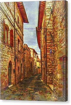 Number 21 Two Canvas Print