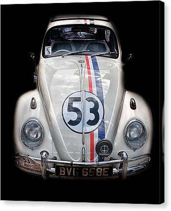 Doodle Art Canvas Print - Number 53 by Martin Newman