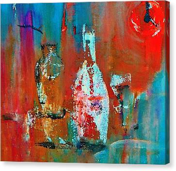Numbers One Two Two Zero Canvas Print by Lisa Kaiser