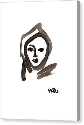 nun Canvas Print