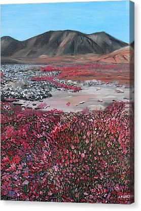 Nunavut Canvas Print by Aleta Parks