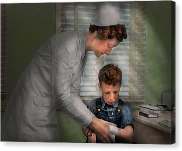 Nurse - Mending Spirits 1939 Canvas Print
