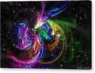Nursery To The Stars Canvas Print by Karen Musick
