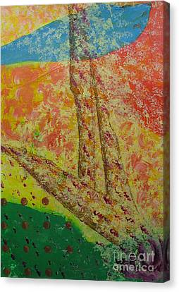 Nurture Canvas Print by Mini Arora