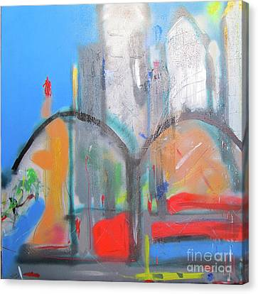 Ny2011 Canvas Print by David Abse