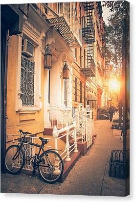 East Village Canvas Print - Nyc Autumn by Vivienne Gucwa