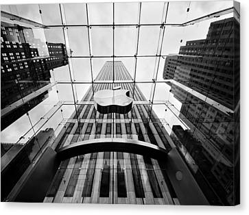Big Apple Canvas Print - Nyc Big Apple by Nina Papiorek