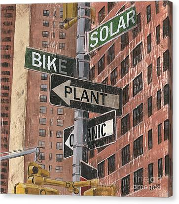 Nyc Broadway 2 Canvas Print by Debbie DeWitt