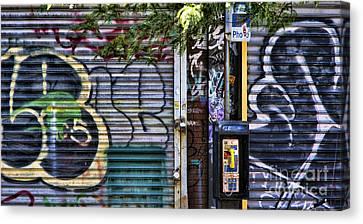 Nyc Graffiti II Canvas Print