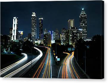 NYC Canvas Print by Happy Home Artistry