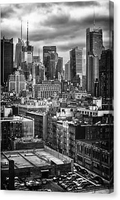NYC Canvas Print by Mauricio Jimenez