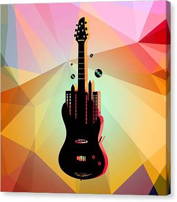 Nyc Music  Canvas Print by Mark Ashkenazi