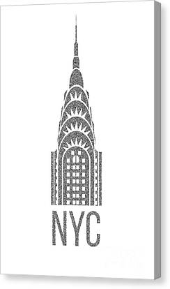Times Square Canvas Print - Nyc New York City Graphic by Edward Fielding