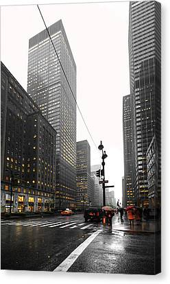 Nyc044 Canvas Print by Svetlana Sewell