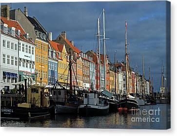 Nyhavn Copenhagen Denmark Canvas Print