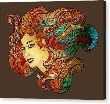 Nymph Canvas Print by Irina Effa