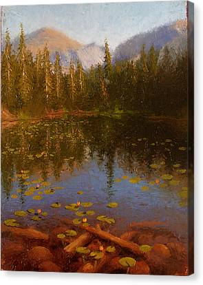 Nymph Lake Canvas Print