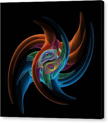 Nyse Ticker Symbol Syy Daily  Canvas Print