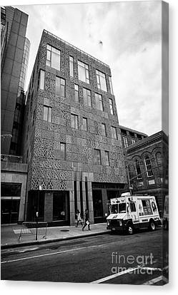 nyu center for academic and spiritual life greenwich village New York City USA Canvas Print