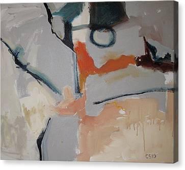 O Canvas Print by Charlie Spear