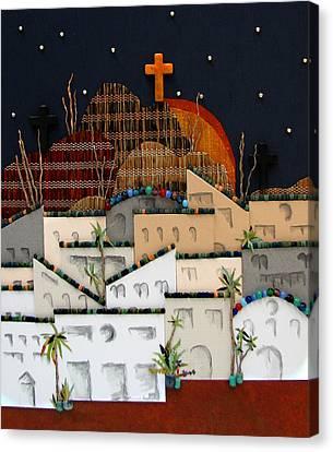 Jerusalem Canvas Print - O Jerusalem by Patricia Presseller