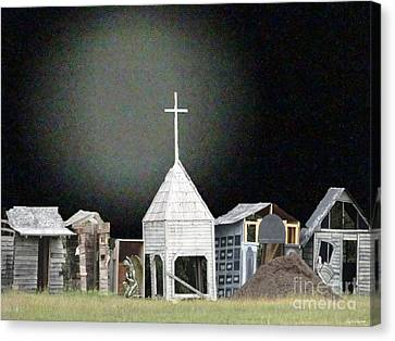 O Little Town Canvas Print