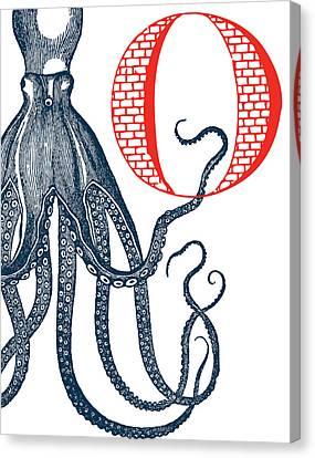 O Octopus Canvas Print by Thomas Paul