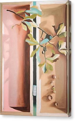 Oak Branch Canvas Print
