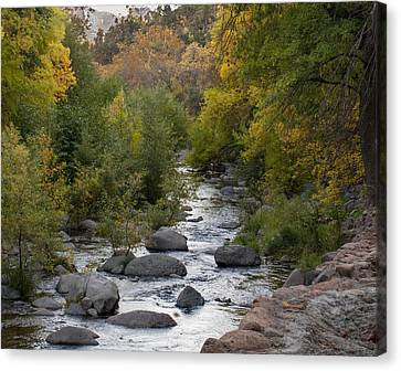 Oak Creek Canyon Canvas Print by Joshua House