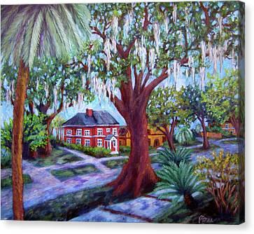Oak Street Canvas Print