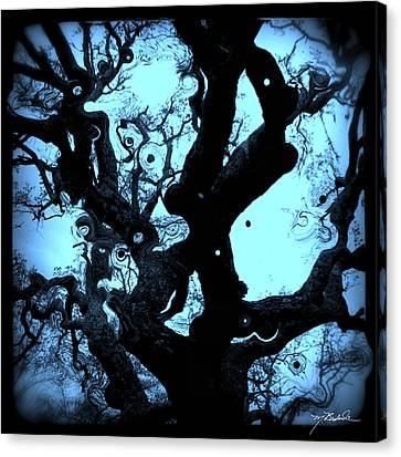 Oak Tree Dream Shot Canvas Print