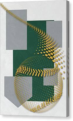 Oakland Athletics Art Canvas Print