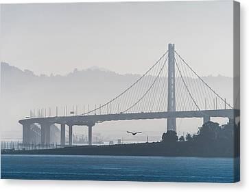 Oakland Bay Bridge Canvas Print