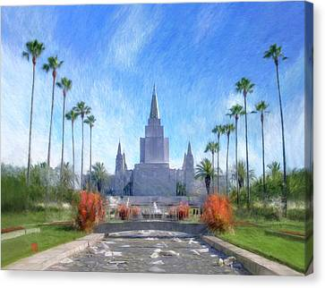 Oakland Temple No. 1 Canvas Print