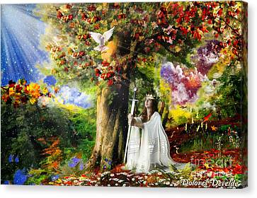 Oaks Of Righteousness Canvas Print