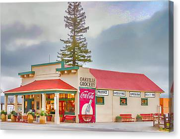 Canvas Print - Oakville Grocery by Bill Gallagher