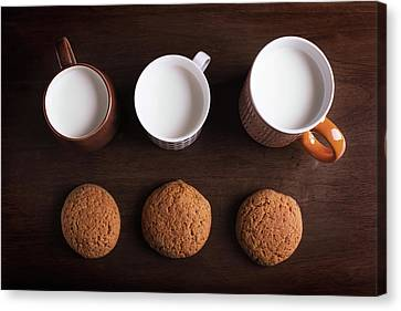 Oatmeal Cookies Canvas Print by Vadim Goodwill