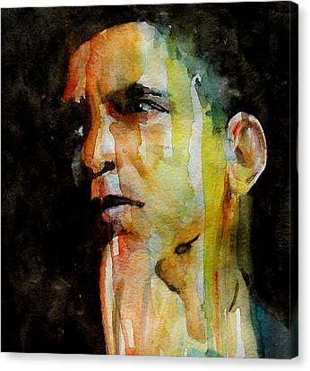 Obama Canvas Print by Paul Lovering