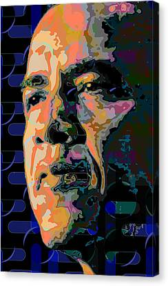 Obama Canvas Print by Scott Davis