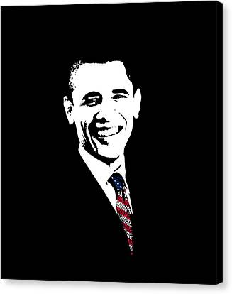 Barack Obama Canvas Print - Obama by War Is Hell Store