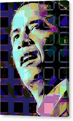 Obama2 Canvas Print by Scott Davis