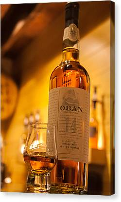 Oban Whisky Canvas Print