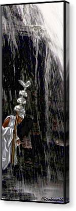 Obatala Is Coming Canvas Print by Carmen Cordova