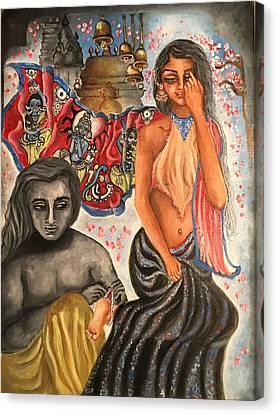 Obeisance Canvas Print