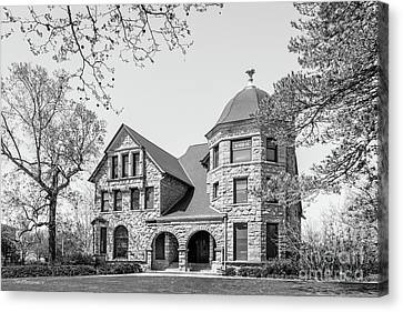 Oberlin College Baldwin Cottage Canvas Print by University Icons